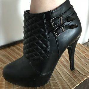 """Shoes - Marbella Ankle Boots with 4"""" Heel"""